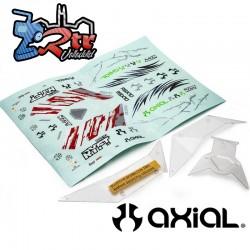 Conjunto de paneles de carrocería transparente RBX10 Axial AXI230032