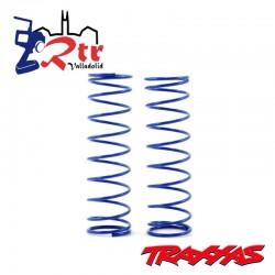 Muelles Azul Traxxas Monster 2WD TRA3757T Delanteros