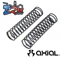 Resorte 13x62 mm 2.5 libras en amarillo extra firme 2 unidades Axial AXI233018