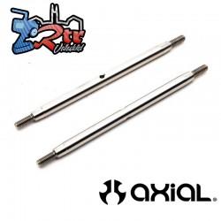 Eslabón de acero inoxidable M6x 105 mm 2 Unidades RBX10 Axial AXI234022