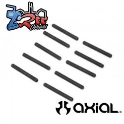 Tornillo de fijación de punta de copa M3 x 25mm 10 Unidades Axial AXI235329