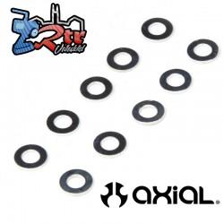 Arandela de 2,5 mm x 4,6 mm x 0,5 mm 10 Unidades Axial AXI236103