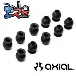 Bola de pivote Inoxidable 4x6  8x88mm 10 Unidades RBX10 Axial AXI234030