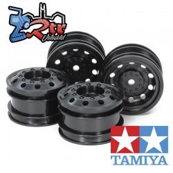 Llantas Tamiya  de Camión de Carreras 1/10 12mm 4 Unidades 54741