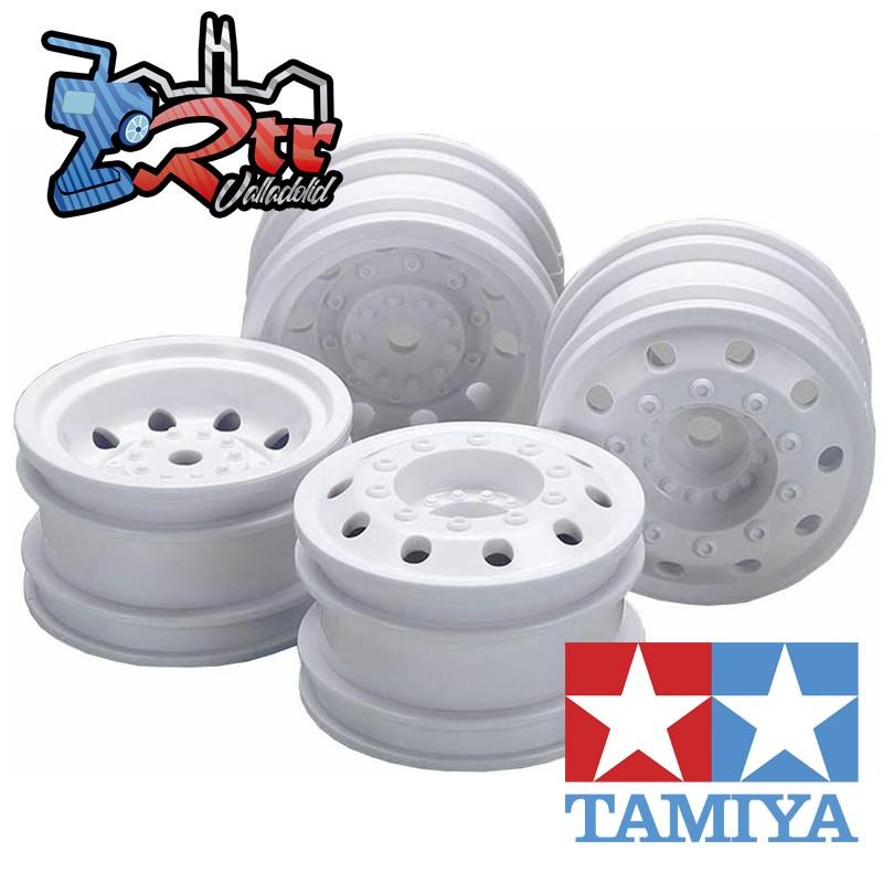 Llantas Tamiya  de Camión de Carreras 1/10 12mm 4 Unidades 54964