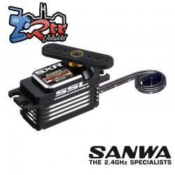Sanwa PGS-LH2 Low Profile SXR Response (0.09s/15.6kg/7.4V) Brushless Servo