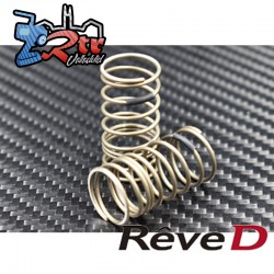 "Muelle trasero Reve D ""Progression-Media"" for RWD Drift (32mm lenght, 9.5 turns, 2pcs) RD-010RM"