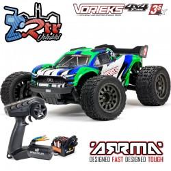 Arrma Vorteks 4x4 3S BLX 1/10 Stadium Truck RTR Brushless RTR Verde