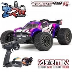 Arrma Vorteks 4x4 3S BLX 1/10 Stadium Truck RTR Brushless RTR Purpura