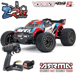 Arrma Vorteks 4x4 3S BLX 1/10 Stadium Truck RTR Brushless RTR Rojo