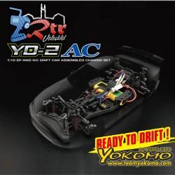 Yokomo YD-2ACN RWD Coche de Drift Emsamblado 2WD Escobillas