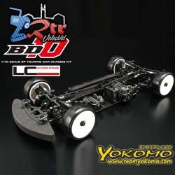 Yokomo BD10 4WD Chasis de Carbono Kit Eléctrico Touring Competición
