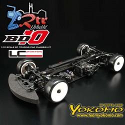 Yokomo BD10 4WD Chasis de Aluminio Kit Eléctrico Touring Competición RTC Suspensión
