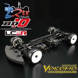 Yokomo BD10 4WD Chasis de Carbono Kit Eléctrico Touring Competición RTC Suspensión