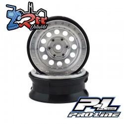 """Llantas Proline 1.9"""" Rock Shoote Aluminio Bead-Loc PR2781-00"""