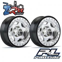 """Llantas Proline 1.9"""" Crestline Aluminio Bead-Loc PR2791-00"""