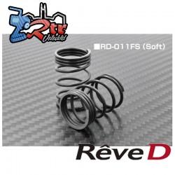 Resorte trasero Reve D R-tune 2WS (duro, 2 piezas) RD-011FS