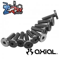 Tornillo Cabeza hexagonal de gran tamaño 3x10 mm (10) Axial AXIC1009
