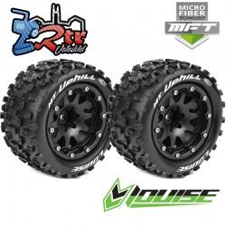 Ruedas Louise 12mm Monster 1/10 MFT-MT-UPHILL 2.8 1/2 Outset Pegadas Rellenas LR-T3309SBH