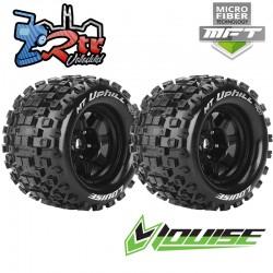 "Ruedas Louise 17mm Monster 3.8""  MFT-MT-UPHIL 1/2 Outset Pegadas Rellenas LR-T309SBH"