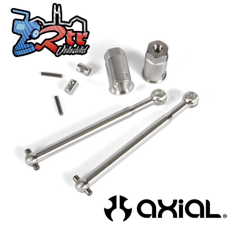 Juego de eje de junta universal 48 mm (2 piezas) Metalicos Yeti Jr. Can-Am Maverick AX31502