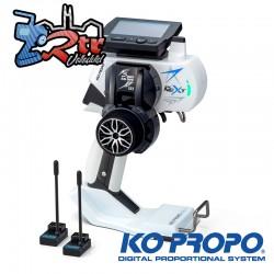 Emisora KoPropo EX-NEXT con 2pcs KR-420XT Receptor