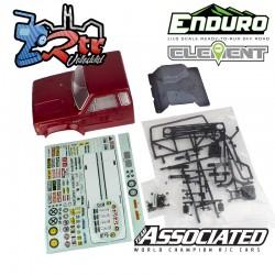 Carrocería Team Asociated Enduro Element Hd Pintada con accesorios 313mm EL42235