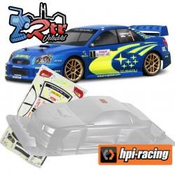 Carrocería Subaru Impreza WRC 2004 (200mm) Transparente