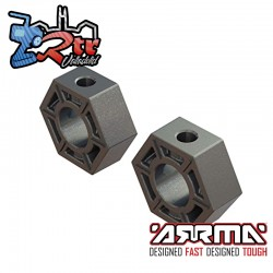 Hexagonos de ruedas 17 mm Arrma ARA310910