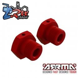 Hexagonos de rueda 17mm Arrma ARA310904