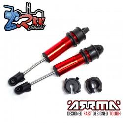 Juego de amortiguadores longitud 178 mm con aceite 700CST Arrma ARA330748