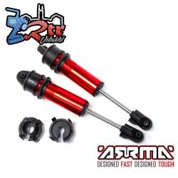 Juego de amortiguadores longitud 181 mm con aceite 700CST Arrma ARA330749