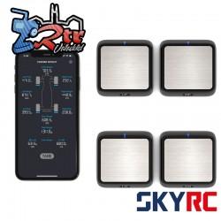 Sistema de ajustador de peso para esquinas SkyRC Bluetooth