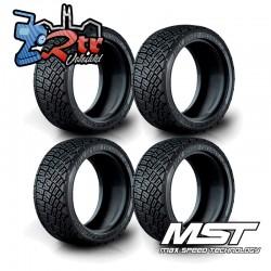 Neumáticos de rally MST LTX Realistic IR (4 piezas) 1/10 MST101033