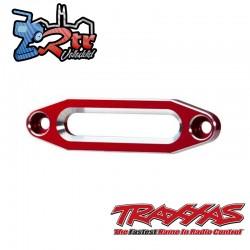 Pasacables, cabrestante, aluminio anodizado en Rojo Traxxas TRA8870R