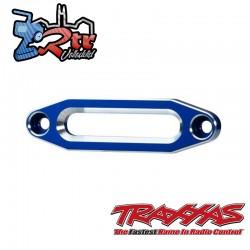 Pasacables, cabrestante, aluminio anodizado en Azul Traxxas TRA8870X