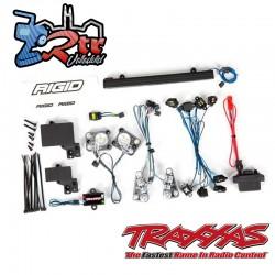 Juego de luces LED, completo con fuente de alimentación Land Rover Defender Traxxas TRA8095