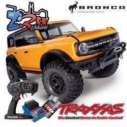 Traxxas TRX-4 4wd 1/10 Scale & Trail Crawler Bronco Anaranjado