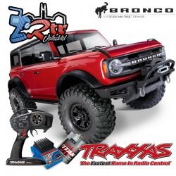 Traxxas TRX-4 4wd 1/10 Scale & Trail Crawler Bronco Rojo