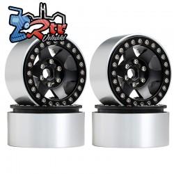 Llantas 1.9 aluminio Crawler beadlock 106gr cada una (4 Unidades)