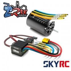 Combo Brushless SkyRC 1/10 Toro TS50 50A Combo 17.5 Turn