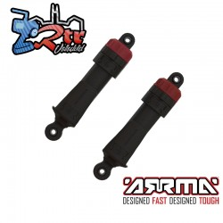 Amortiguadores 11mm longitud 87 mm aceite 500cSt Arrma ARA330722