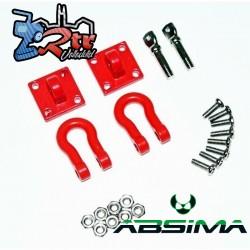 Grillete resistente con soporte de montaje 1:10 Absima 2320046