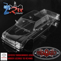 RC4WD 2001 Toyota Tacoma 4 Door Body for TF2 LWB 313MM/12.3