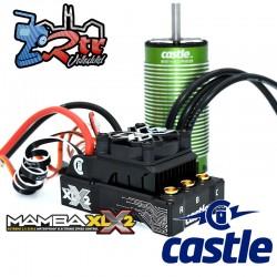 Castle Mamba XLX2 8S 33.6V Esc 20A Bec Motor 2028 800KV con Sensores