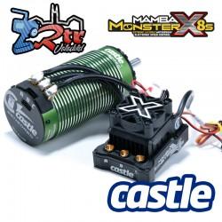 Castle Mamba XL2 8S 33.6V Esc, Motor 2028 800KV con Sensores