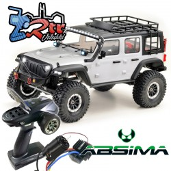 Absima Sherpa Crawler 1/10 4x4 CR3.4 6 Canales Luces RTR Blanco