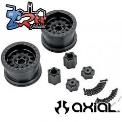 "Llantas Axial 2.2"" Method IFD Negro 12mm AX31178"