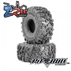 "Ruedas PitBull 1.55"" Rock Beast XOR con espumas PB9020AK"