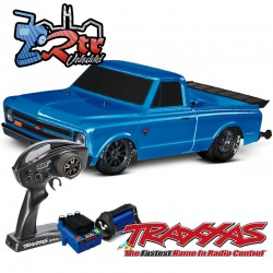 Traxxas Chevrolet Drag Slash 1/10 2Wd Brushless TSM Azul